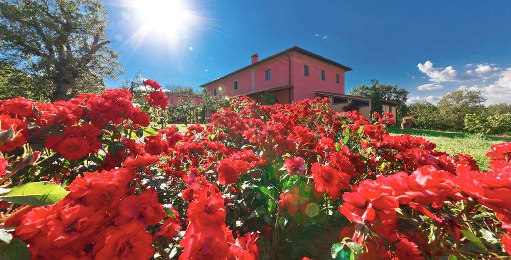 at the enchanting Relais de Campiglioni 4*