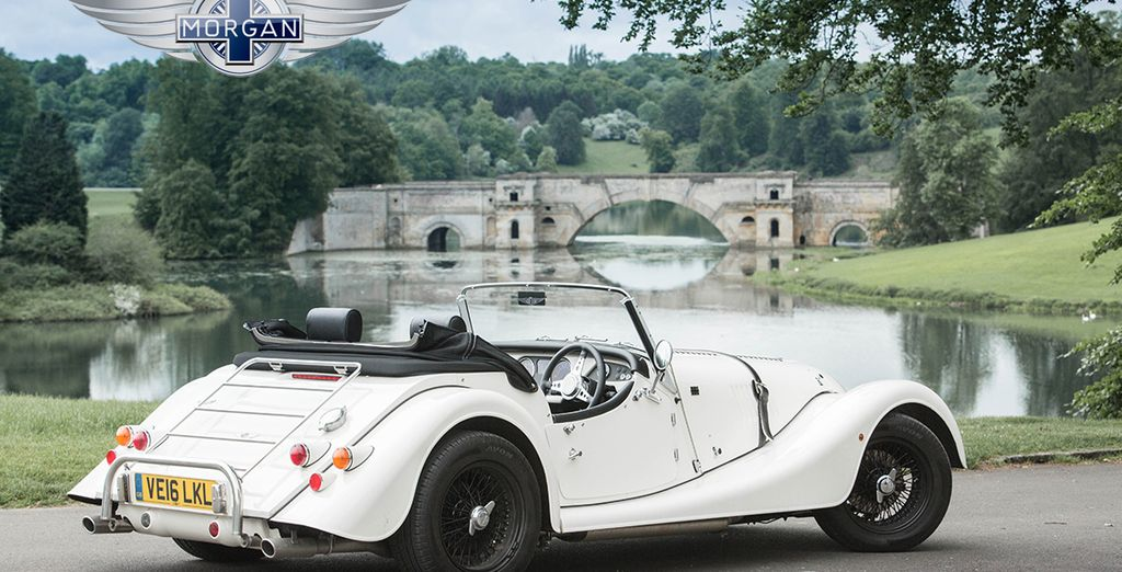 Our offer includes a one day Classic Morgan Experience!