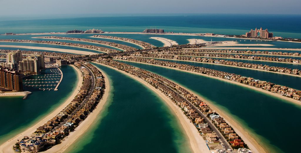 Finish in Dubai, ready for your 3 night hotel stay