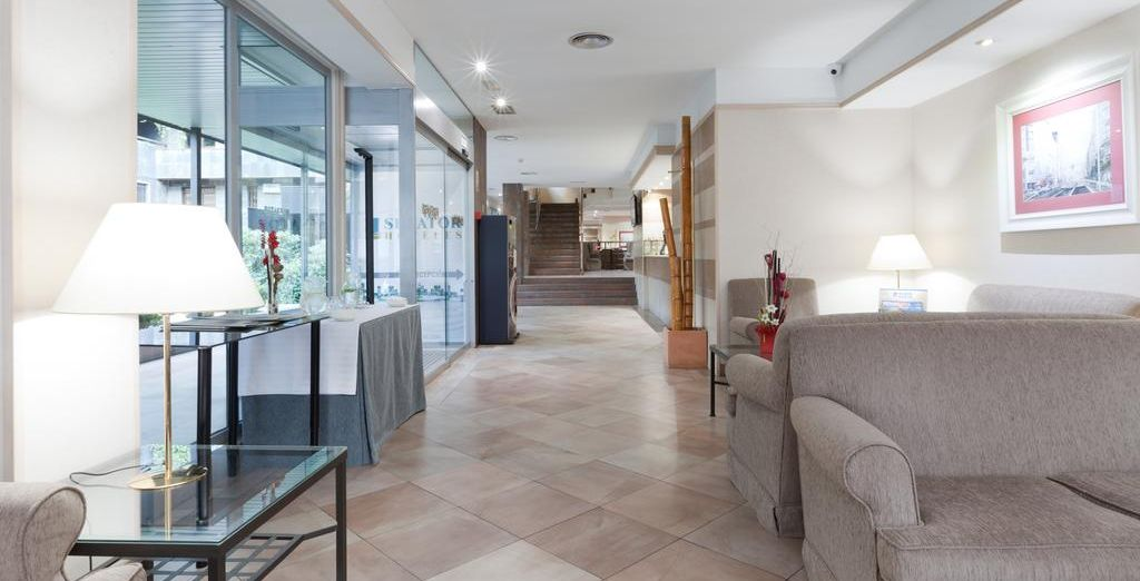 Hotel Senator Castellana 3* - booking hotel with Voyage Privé