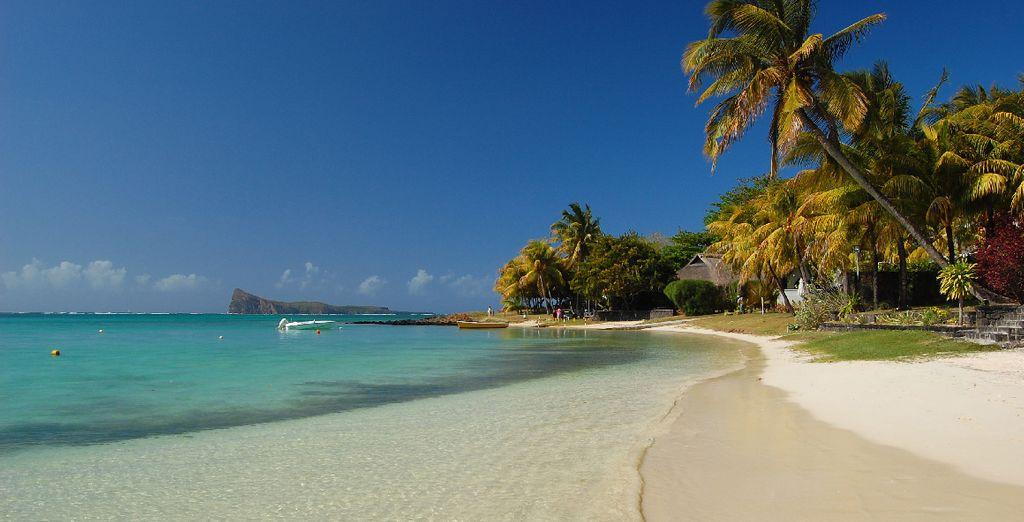 Mauritius' beach
