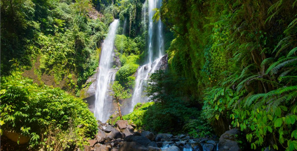 Travel Guide to Bali : Sekumpul Waterfalls