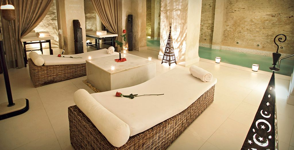 And kick back in the spa to truly unwind