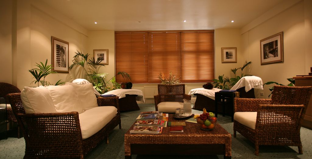 Or unwind with a relaxing spa treatment