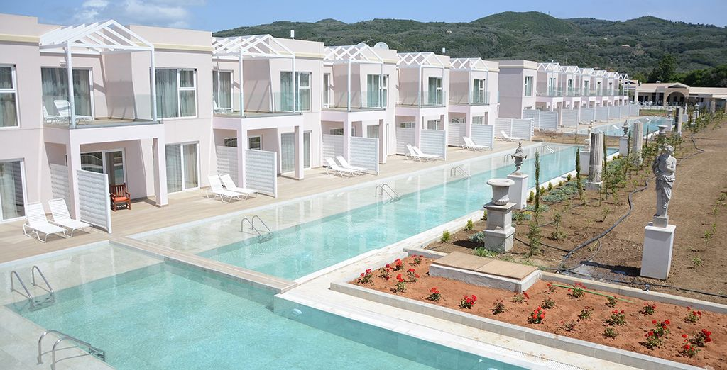 Kairaba Sandy Villas 5* - private villa in Corfu Town