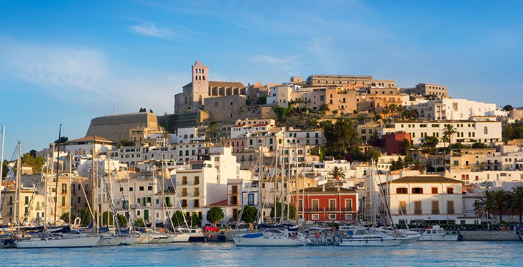 Explore the beauty of Ibiza Old Town
