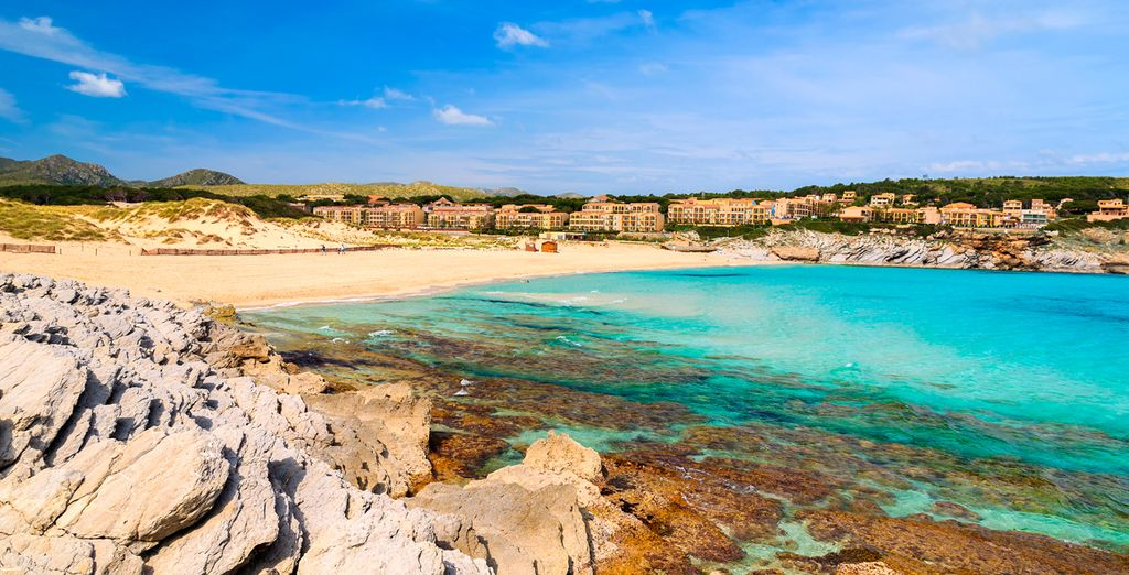 Beautiful beaches in Palma de Mallorca