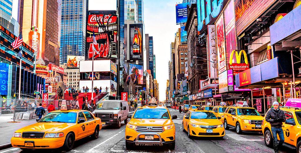 city break in new york