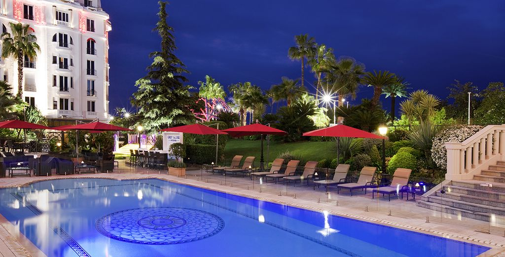 Hotel Barriere Le Majestic Cannes 5* -holidays in south of france