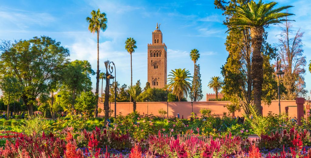 Holidays to Marrakech : Koutoubia Mosque