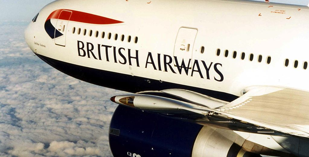 And travel in luxury with British Airways...
