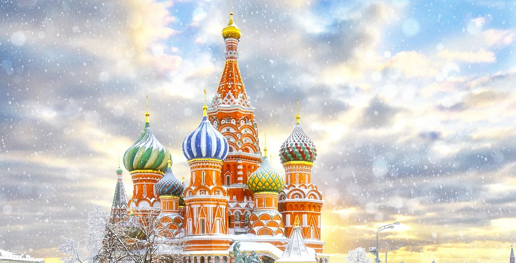 Discover Moscow this Winter or Spring