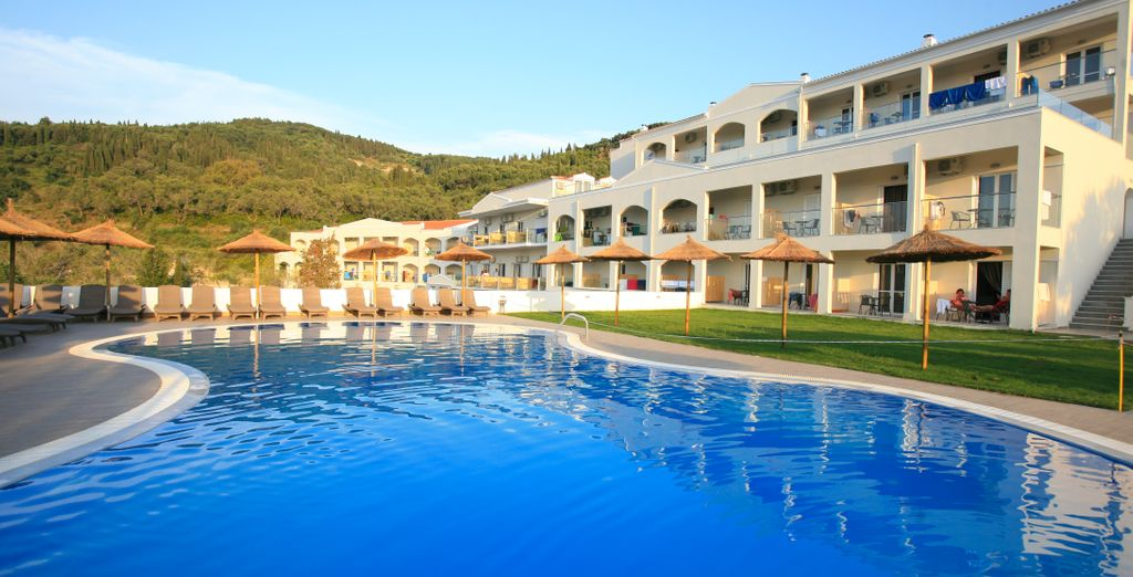 Saint George Palace 4* - best hotel in Corfu Town