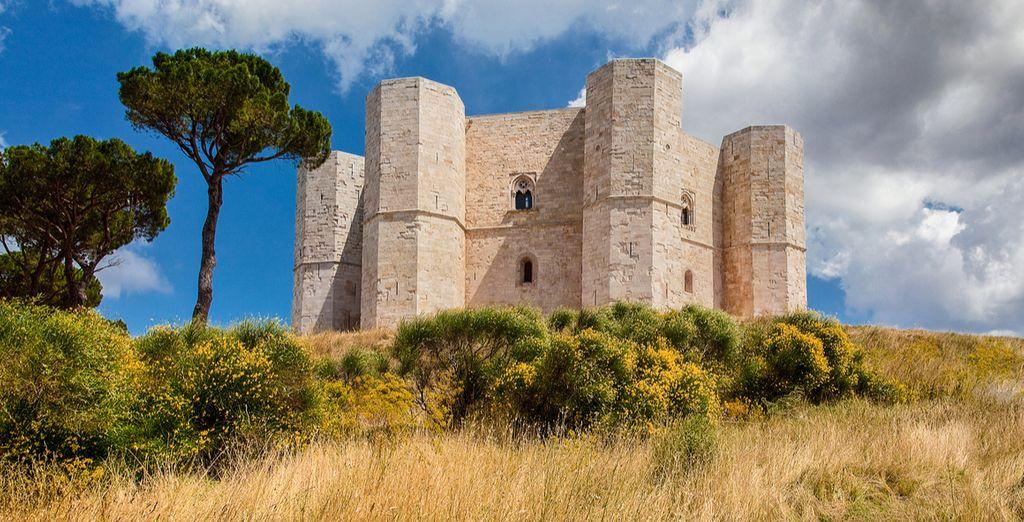 The famous Castel del Monte