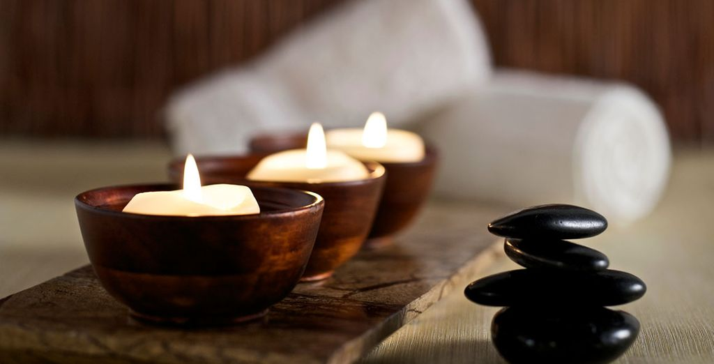 Indulge with a trip to the spa...