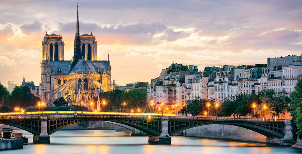 Discover the city of love ...