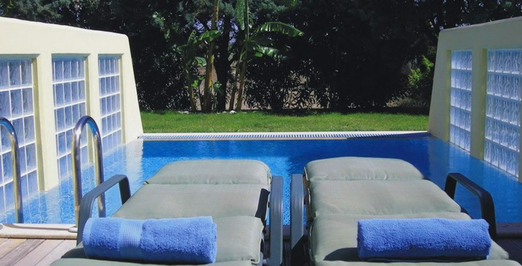 Or upgrade to a Garden View with private pool!