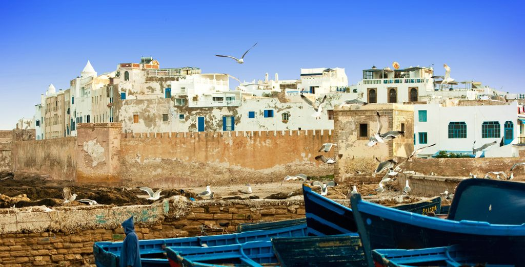 Before heading out to explore the coastal city of Essaouira