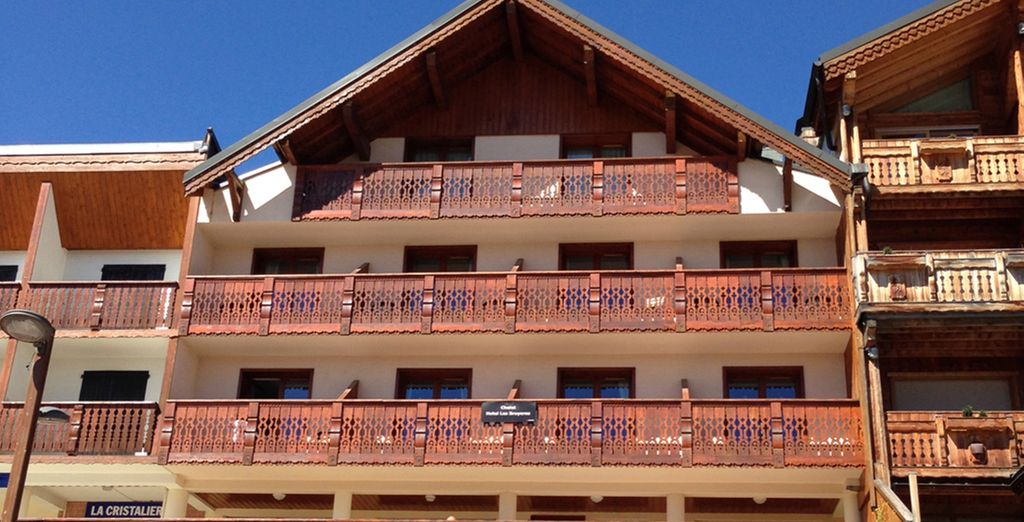 You can enjoy a 3 night stay at Chalet Bruyere