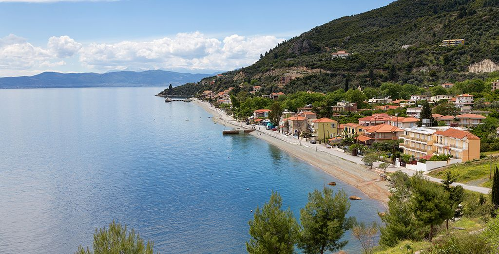 On the quiet, lesser-known Greek island of Evia