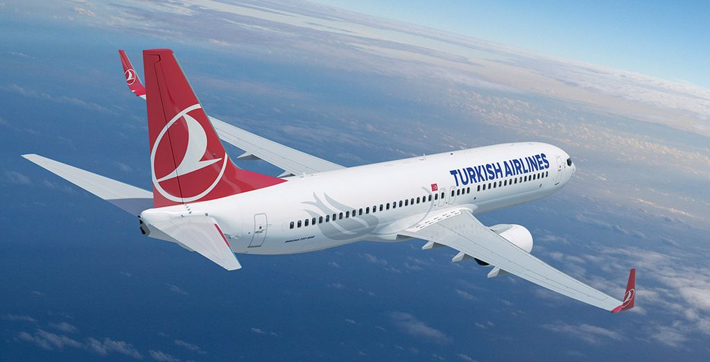Start your stay in style when you choose to fly with Turkish Airlines