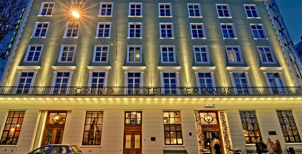 You'll be staying in Grand Hotel Terminus 4*