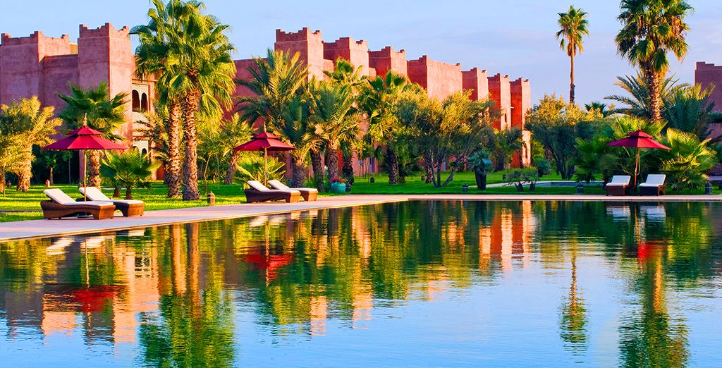 The 5* Taj Palace, Marrakech