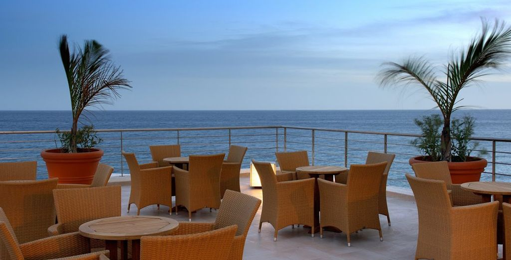 Sea Views from the chill out terrace - Vincci Tenerife Golf 4* Tenerife