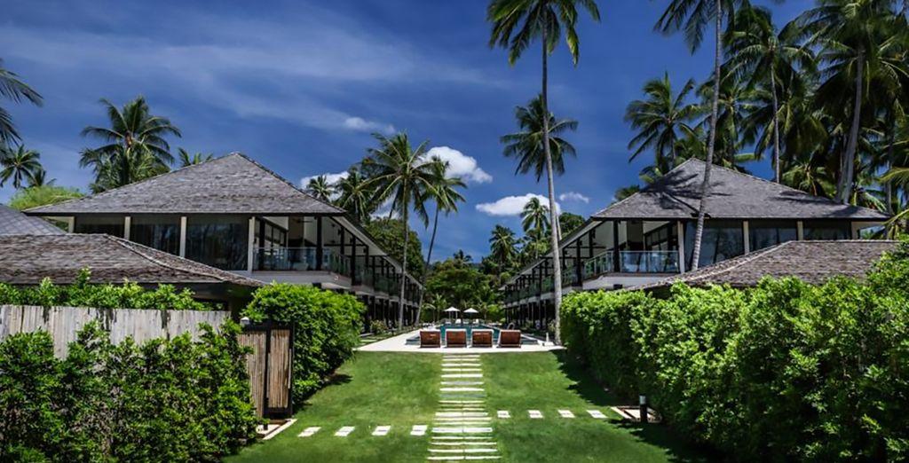 A beautiful resort to explore