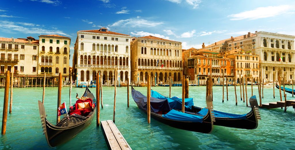 And make your way to the romantic grand canal