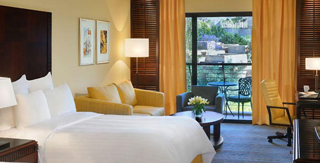 Jordan Valley Marriott Superior Room