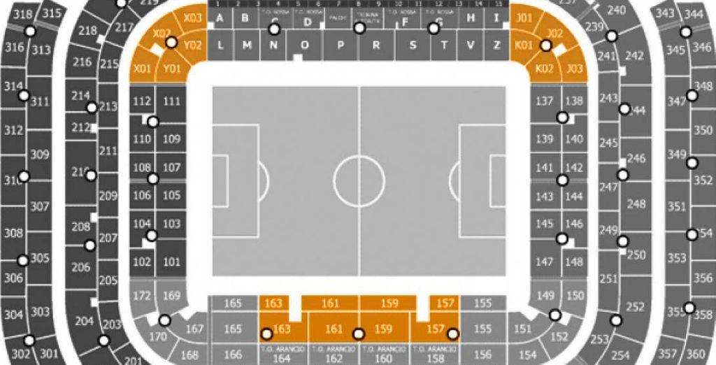 Where you will receive excellent Orange Sector seats