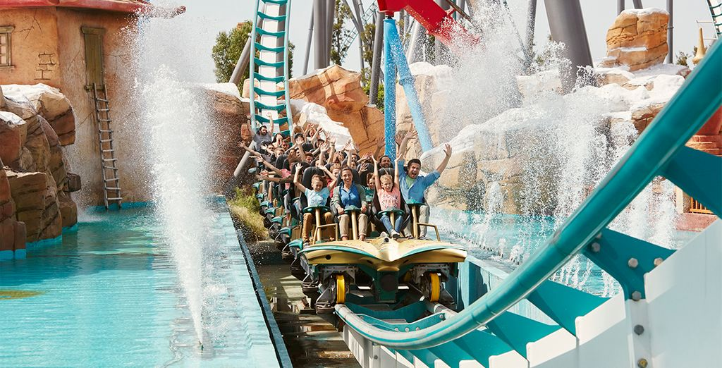 Add a 2 day pass to Portaventura Park