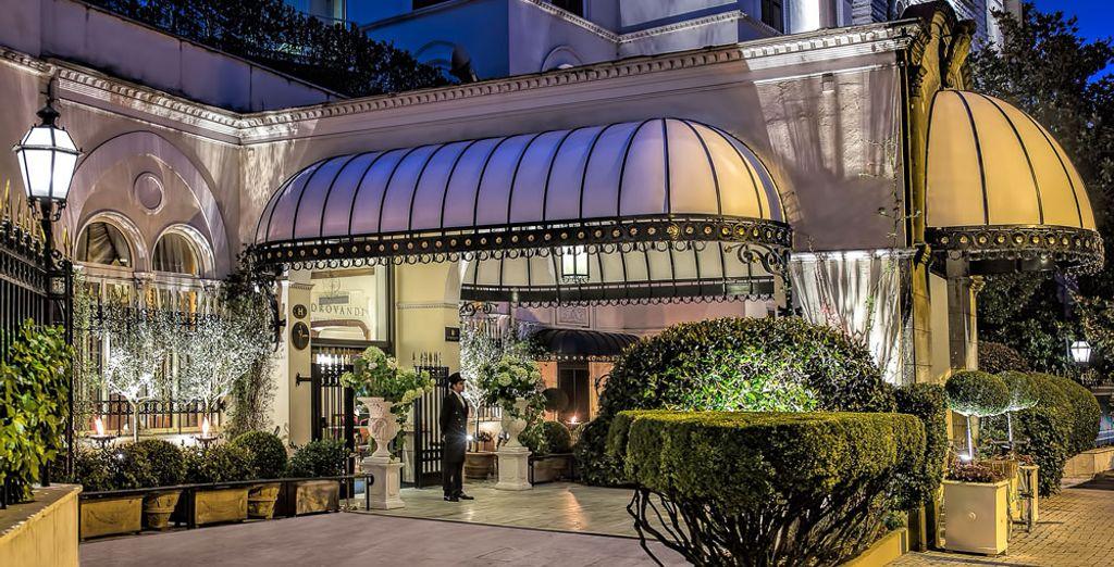 Welcome to Aldrovandi Villa Borghese 5*