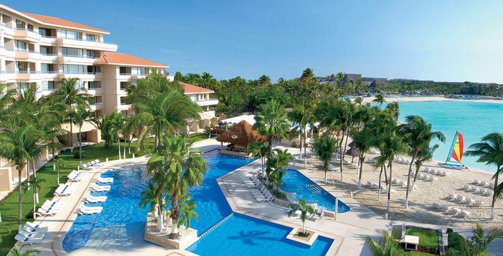 Welcome to the Dreams Puerto Aventuras Resort & Spa - Dreams Puerto Aventuras Resort & Spa***** - Riviera Maya - Mexico Riviera Maya