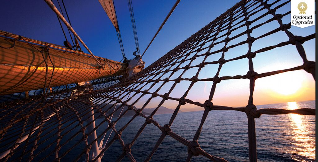 Set sail for the sunshine this Winter, on board the Star Clipper - Star Clipper - Caribbean  Cruise