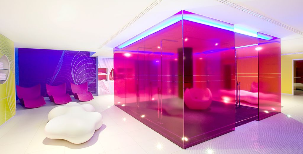 Then retreat to the hotel's wellness centre