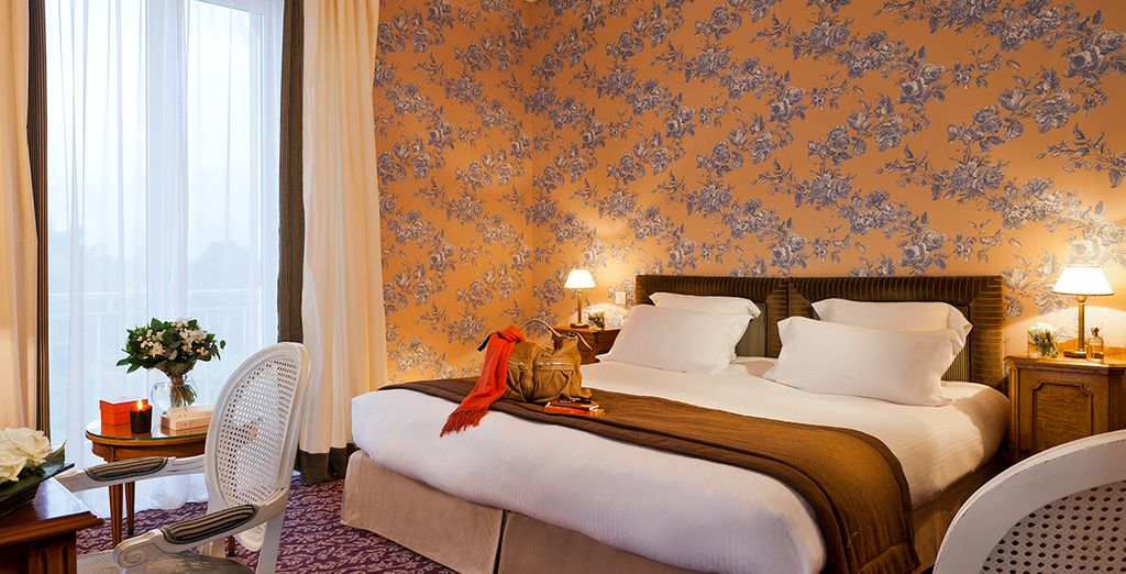 Stay in an elegantly decorated Superior Room