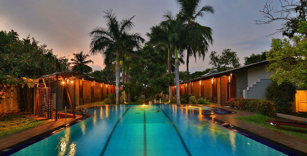 And excellent facilities [Hotel Chandrika pictured]