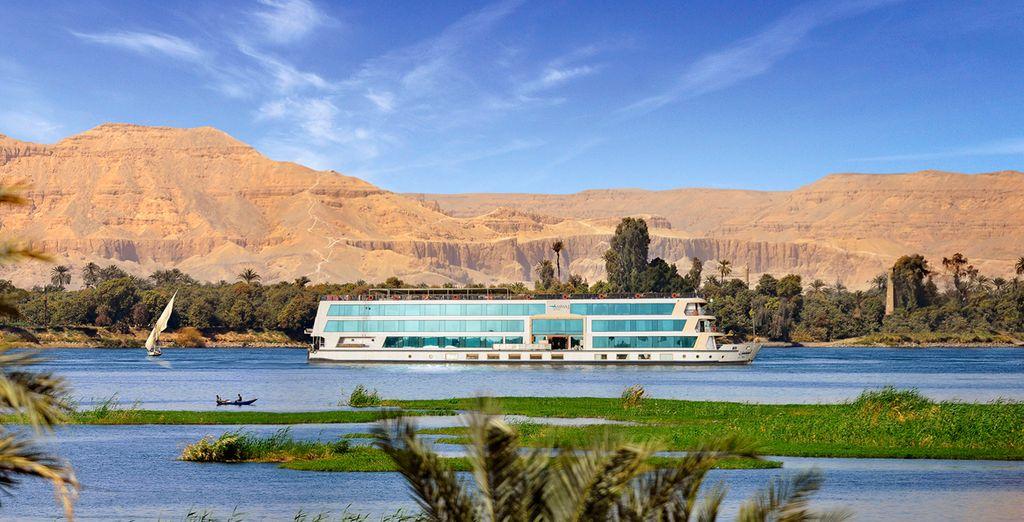 Sail along the enchanting Nile River on this 5* cruise