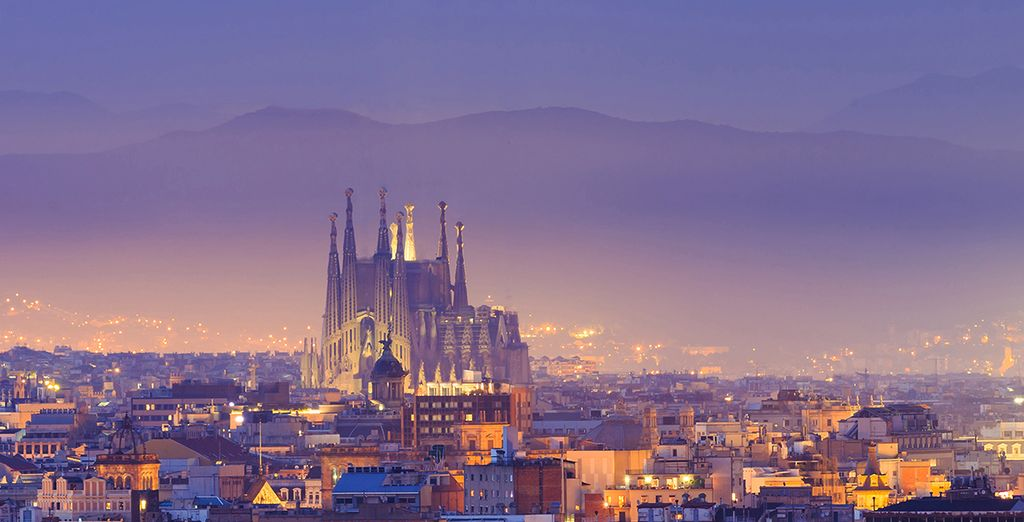 ...From the iconic Gaudi architecture...