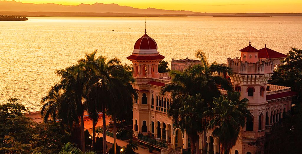 And the impressive colonial architecture of Cienfuegos