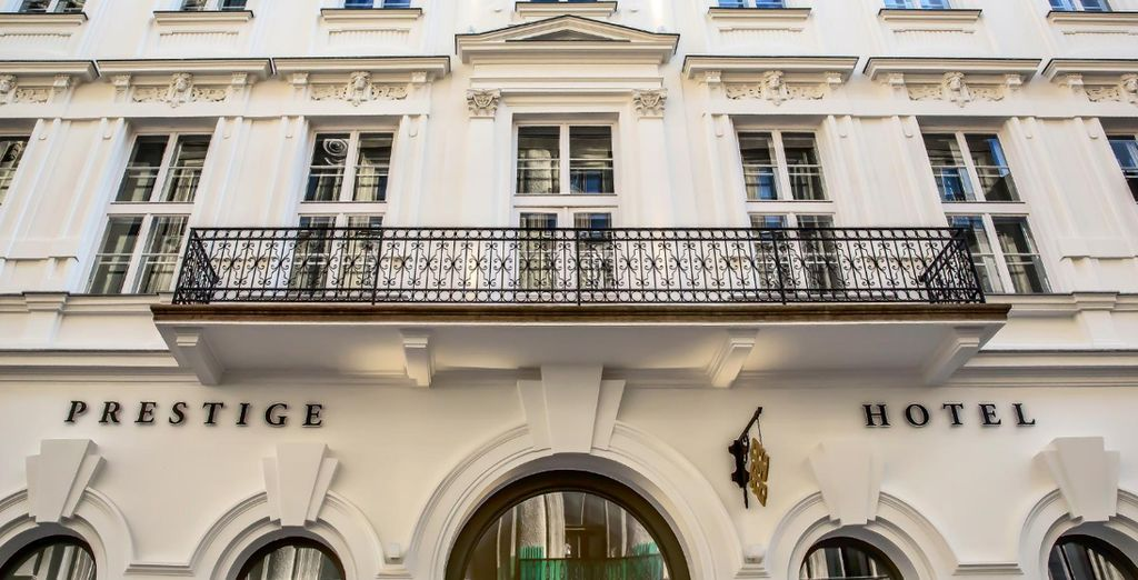 Welcome to the luxurious Prestige Hotel Budapest 4*