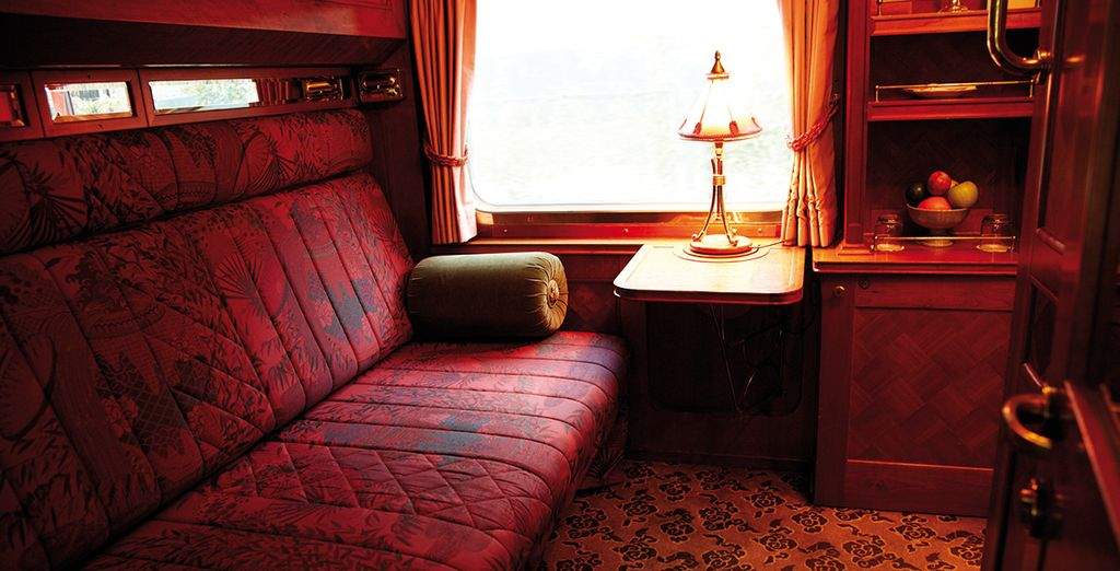 For an exceptionally luxurious 2 night rail journey