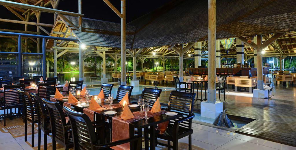 Enjoy fine dining in the hotel's restaurants