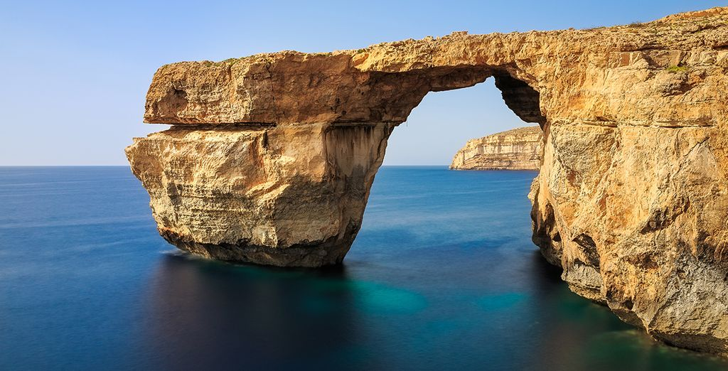 Or take a short boat trip to discover neighbouring Gozo's unspoiled natural scenery
