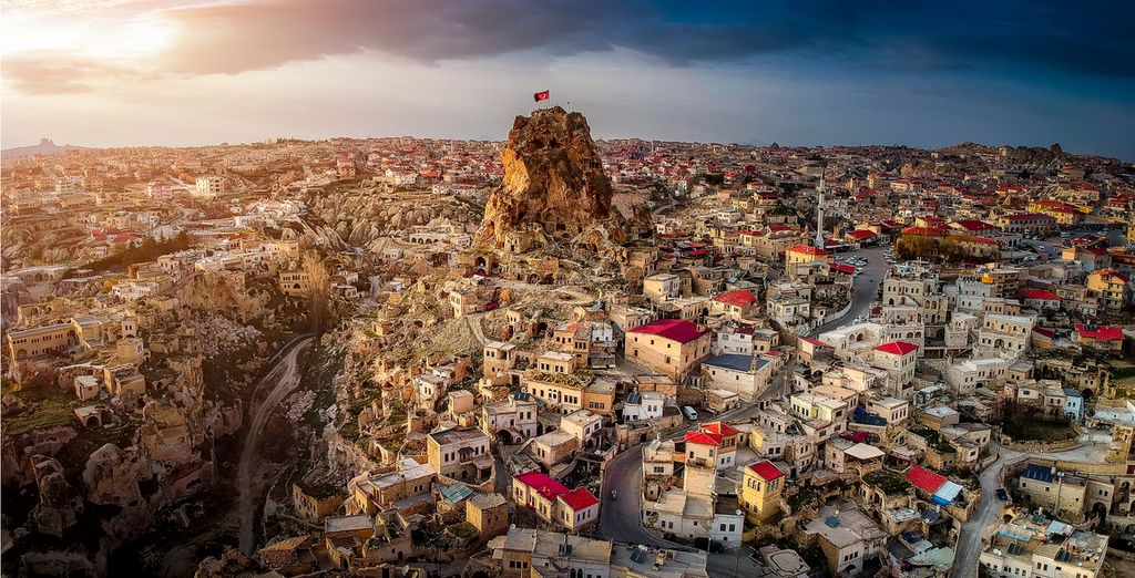 Visit the famous and fascinating Cappadocia
