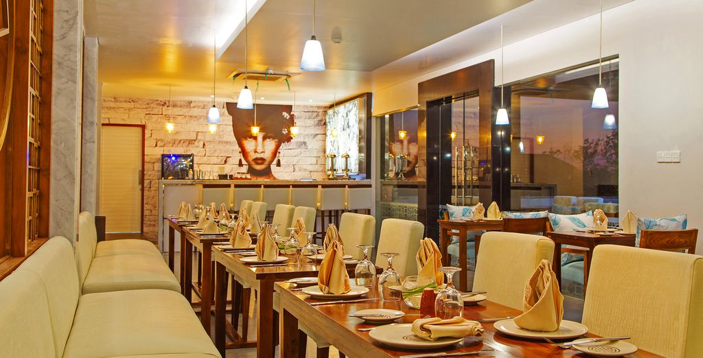Sattvic Restaurant also bursts with flavour