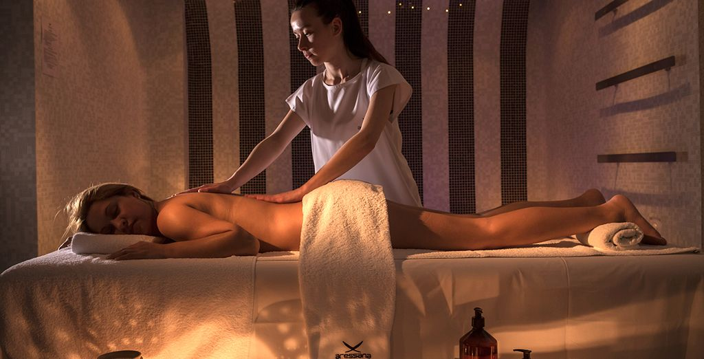 Head to the spa for a sensual massage