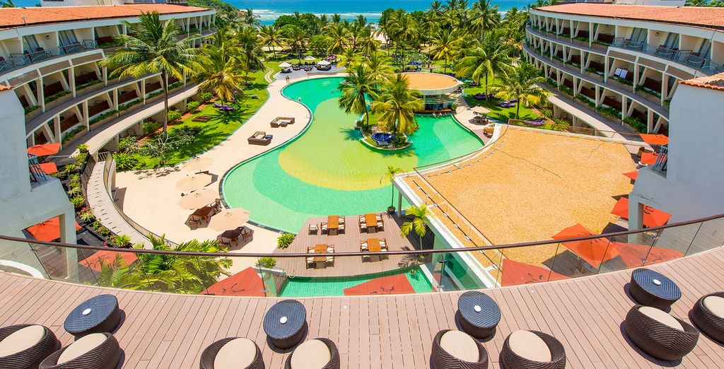 Thanks to its excellent leisure facilities, such as the huge lagoon-style pool